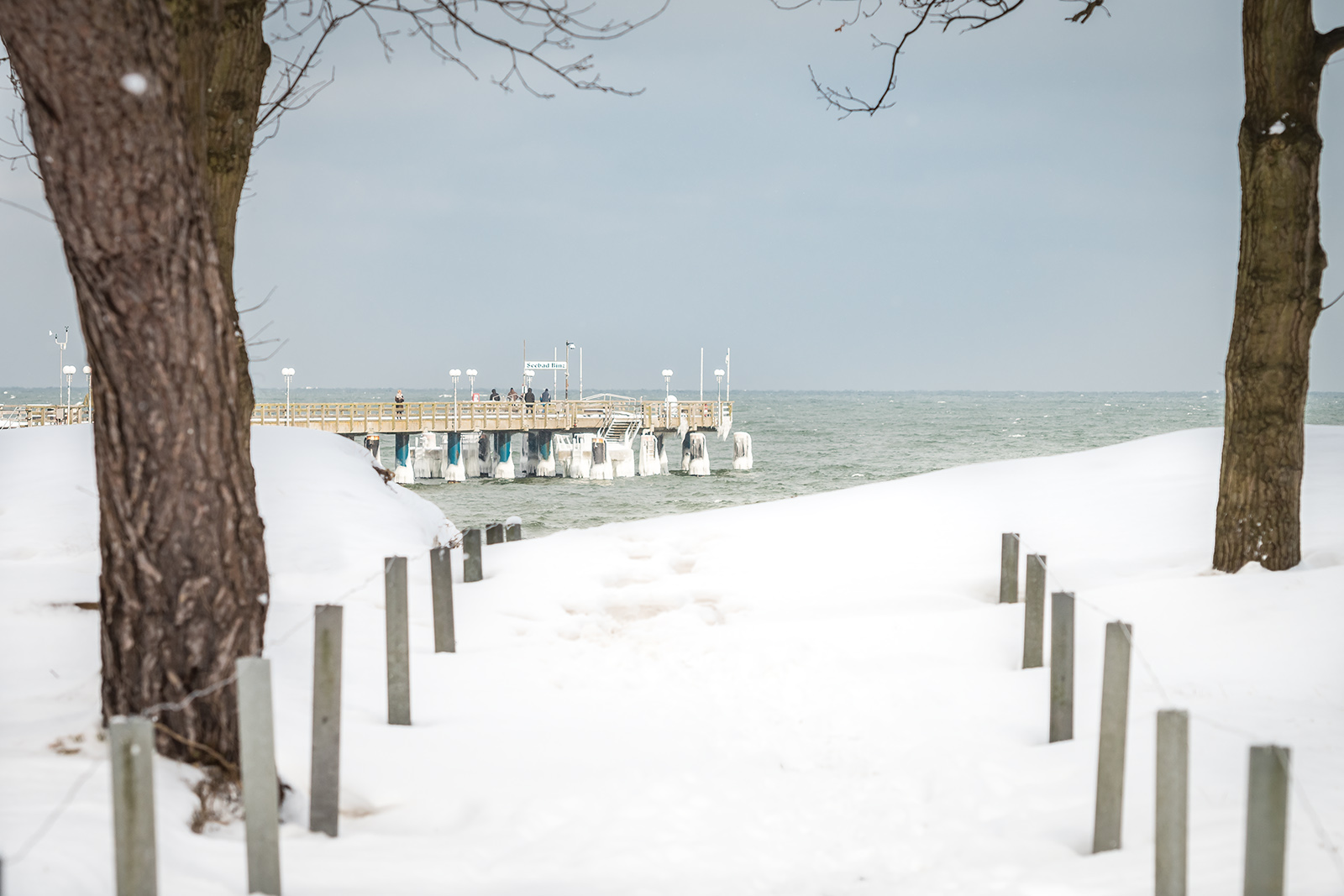 Winterstrand Binz